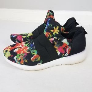 "Steve madden floral ""rayson"" slide on sneakers"